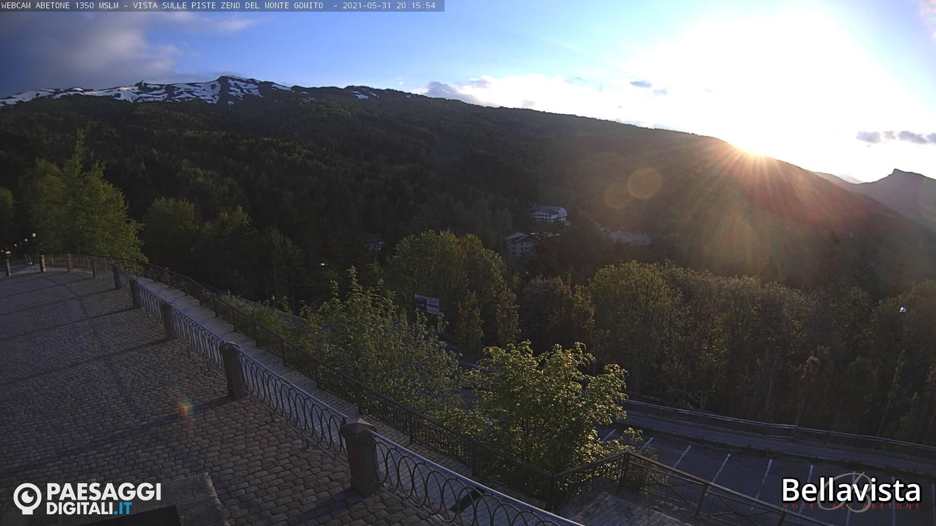 Webcam Abetone Monte Gomito (PT)