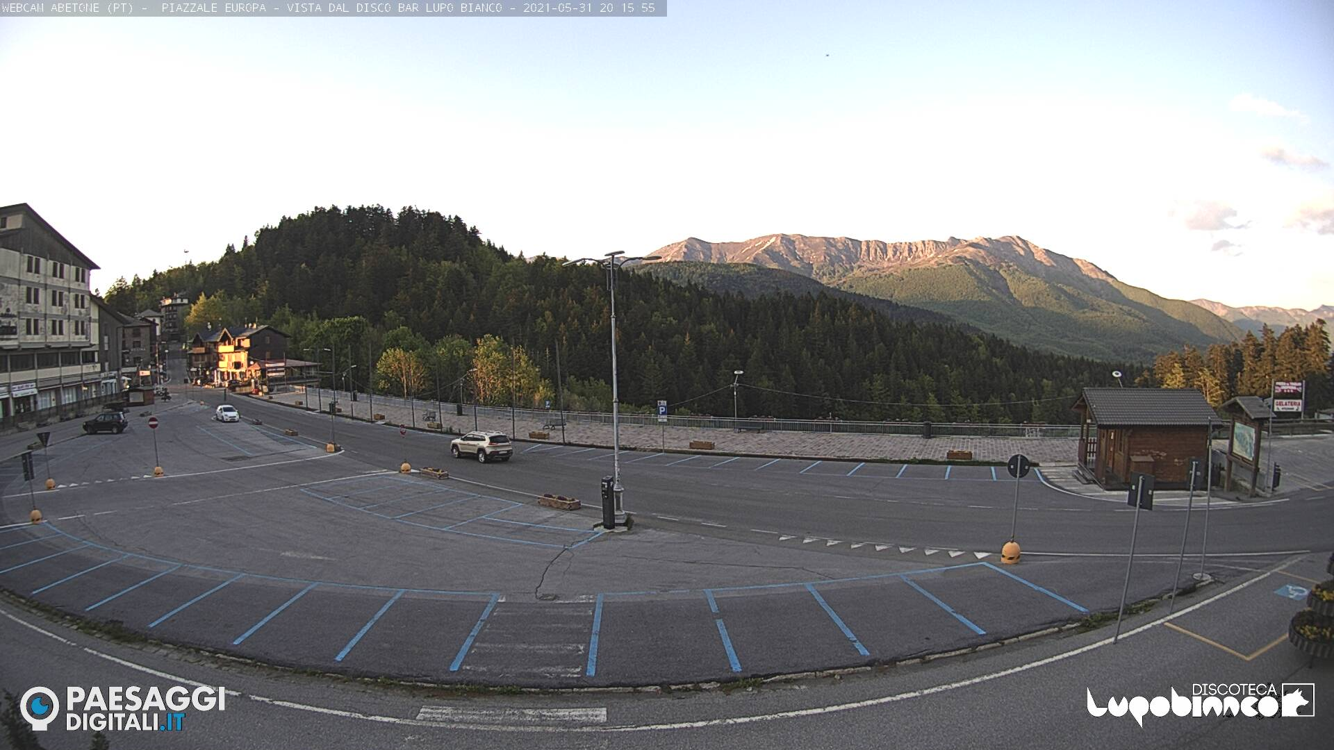 Webcam Abetone Piazza
