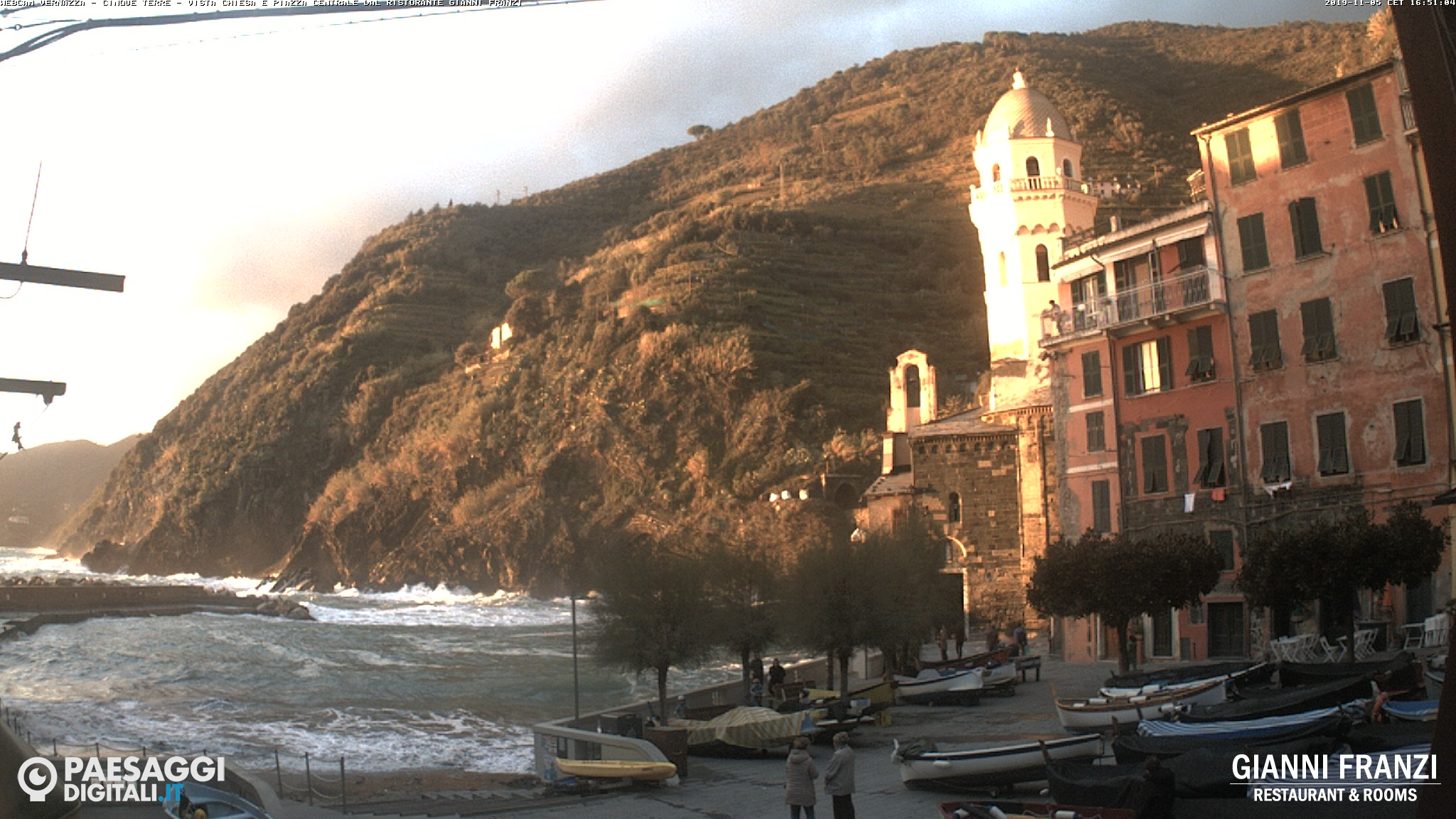 Webcam in Vernazza, Cinque Terre